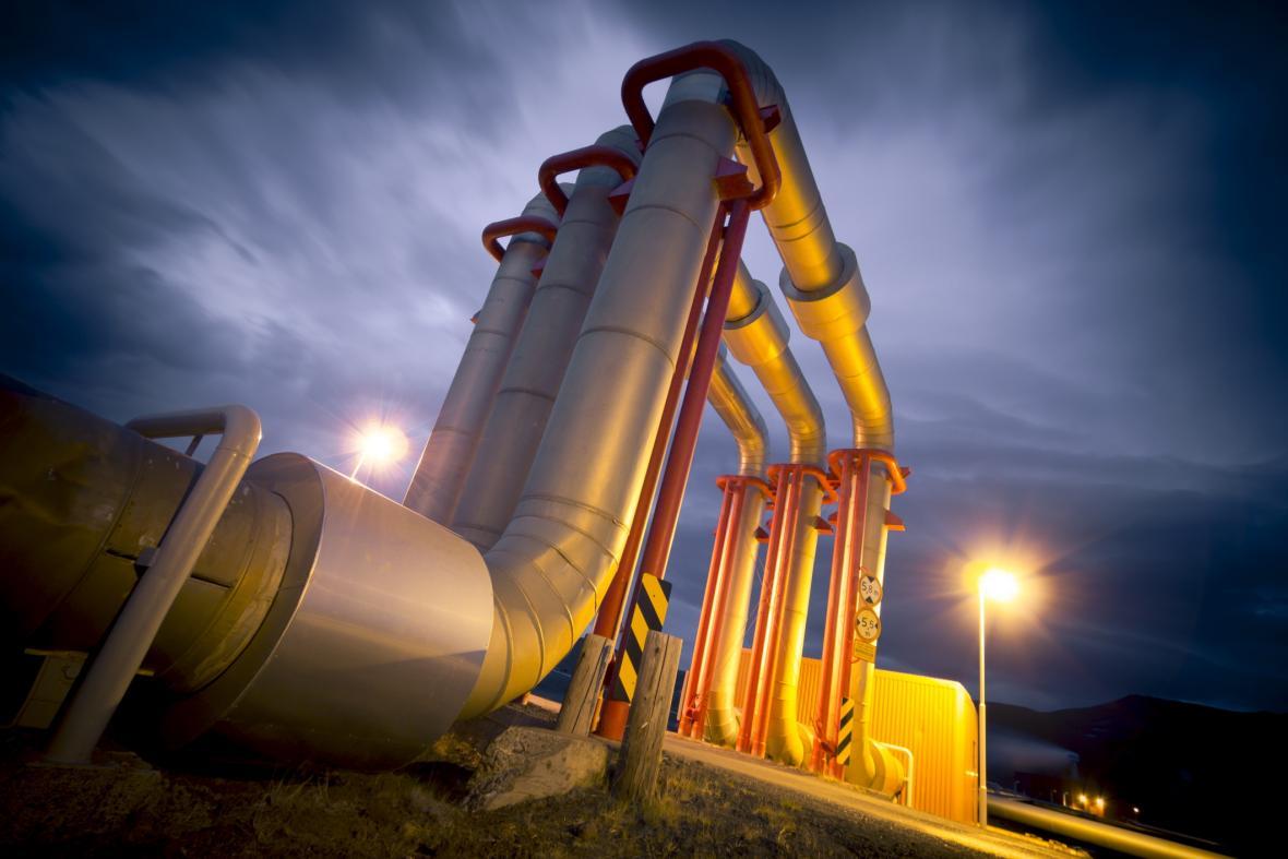 Distribuce ropy a zemního plynu