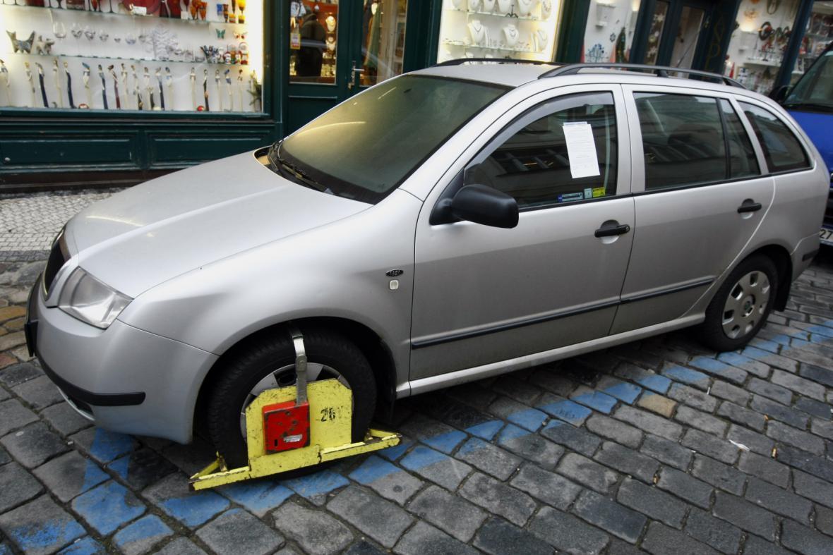 Parkovací zóny v Praze