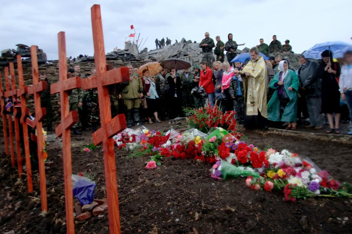 Obyvatelé Donbasu