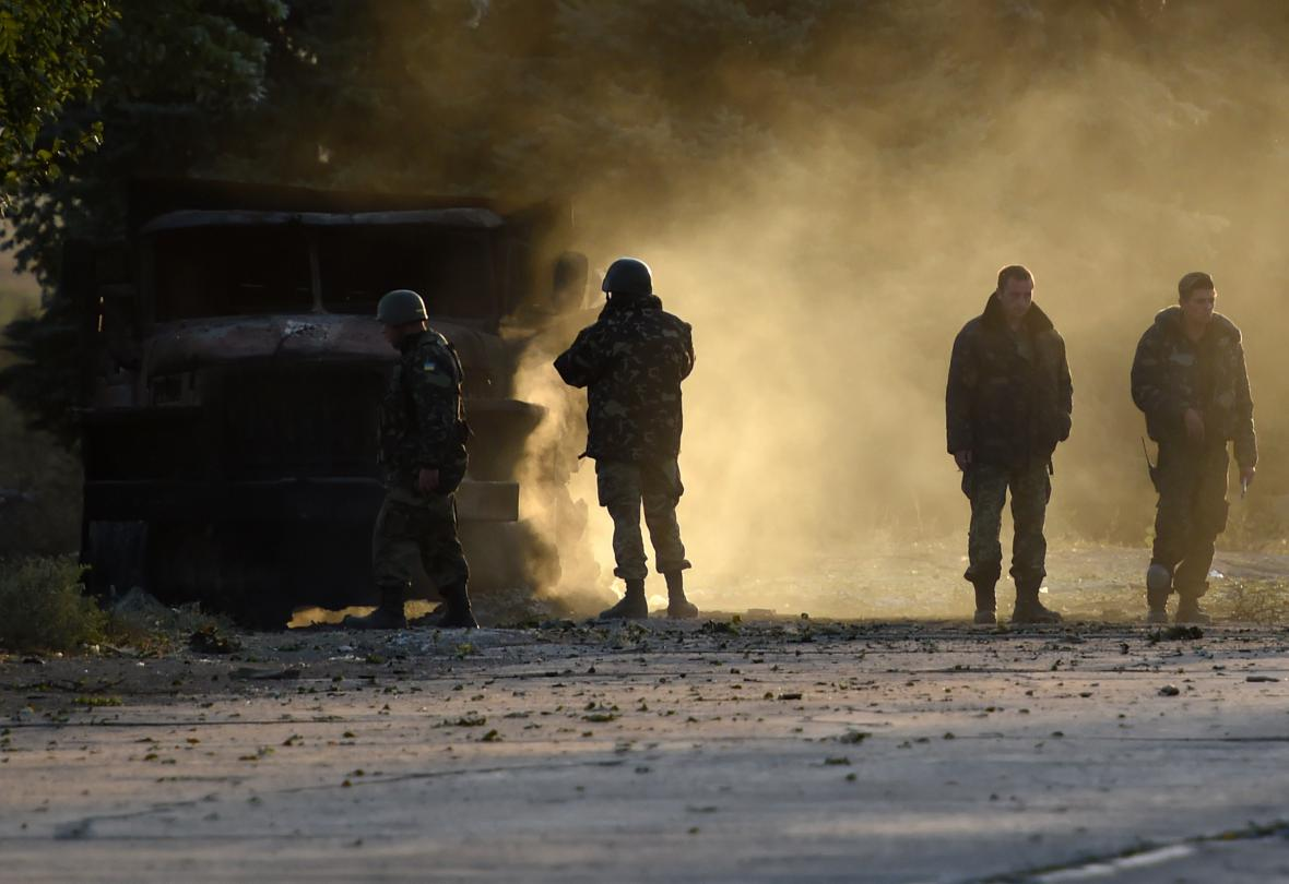 Boje u Mariupolu