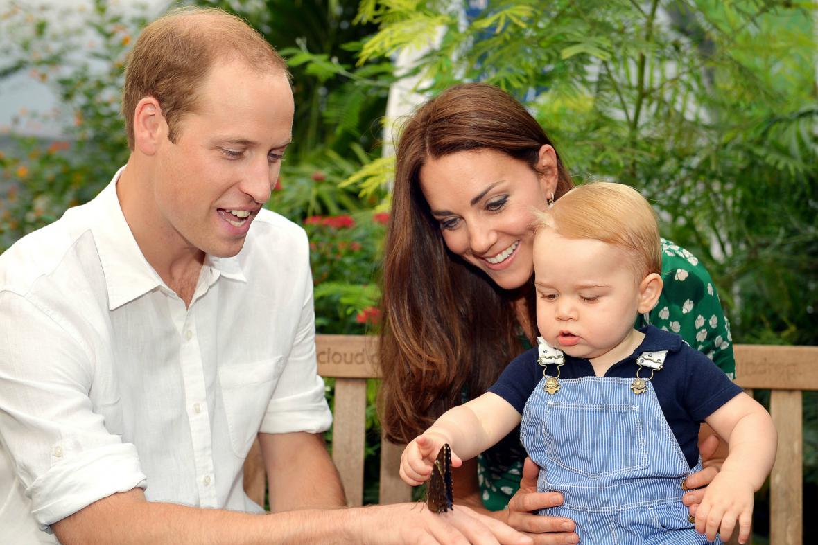 Princ George oslavil první narozeniny