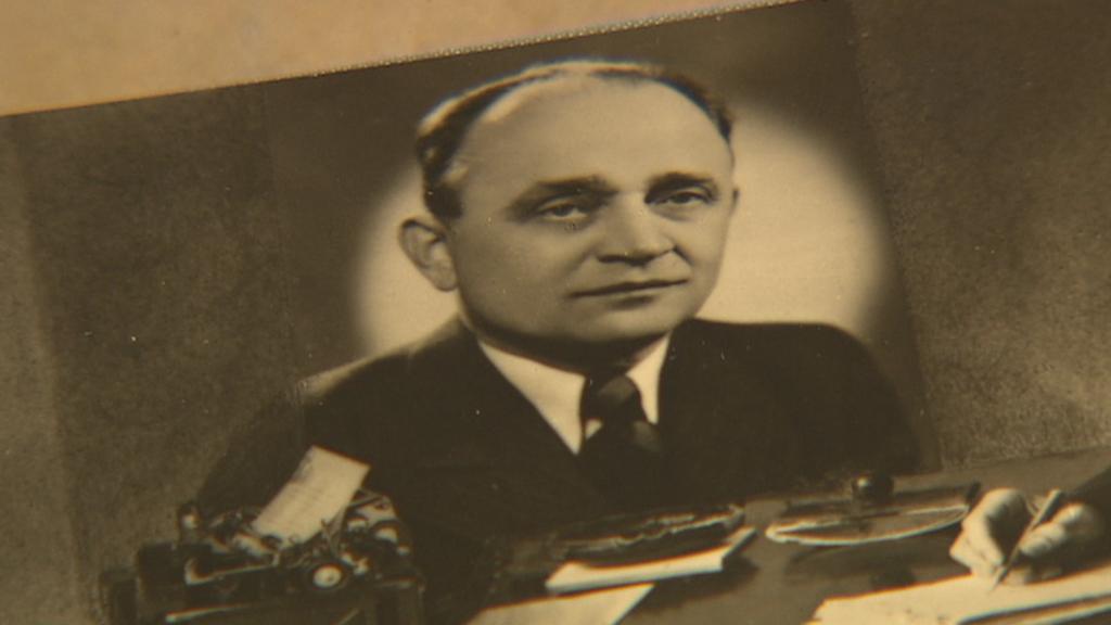 František Suchý, tehdejší ředitel strašnického krematoria