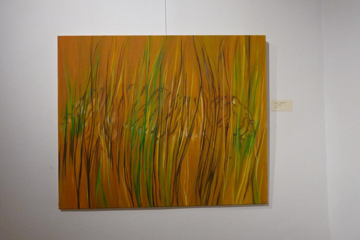 Alena Beldová / V trávě