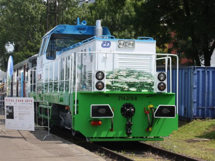 Lokomotiva na zemní plyn