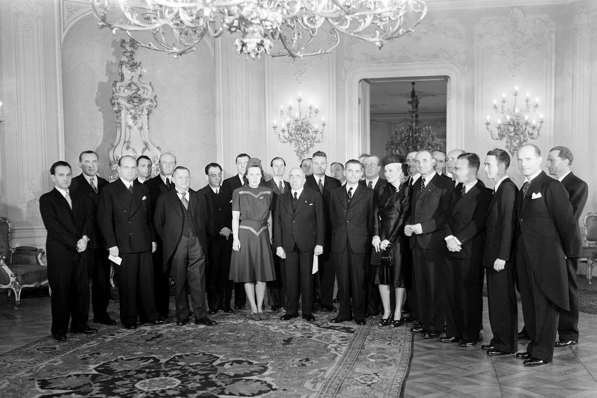 Udílení Národní ceny (1940)