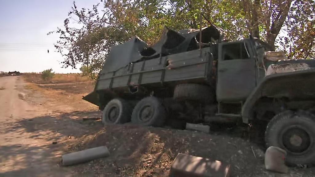 Konec bojů na Ukrajině