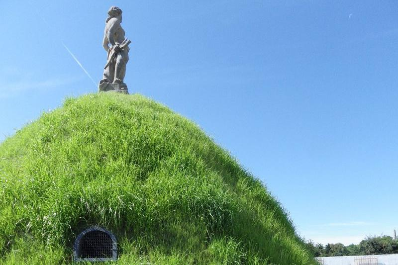 V zahradě dnes návštěvníci uvidí repliku Králičího kopce