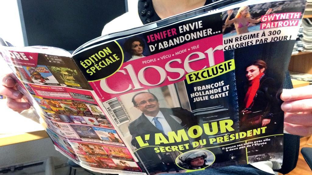 Magazín Closer píše o Hollandově milence