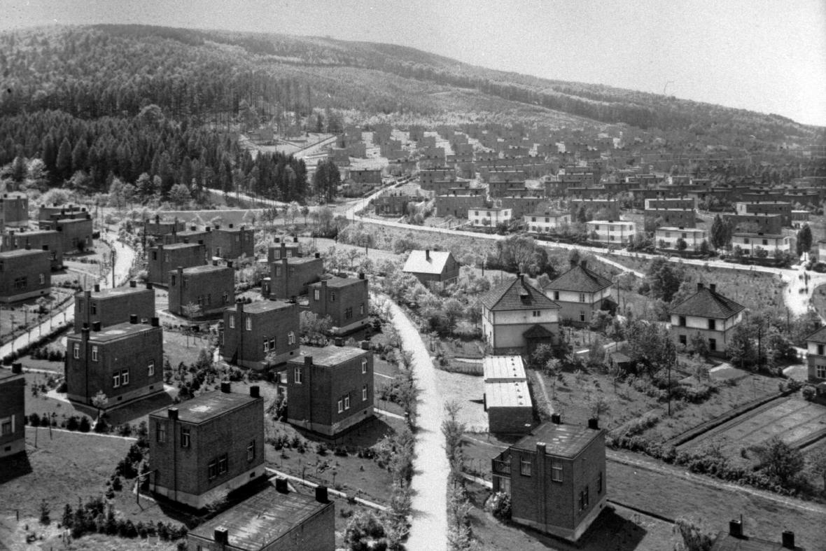 Zlínské domky zaměstnanců Baťových závodů (1933)