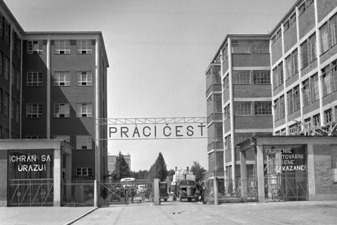 Národní podnik Baťa v roce 1947