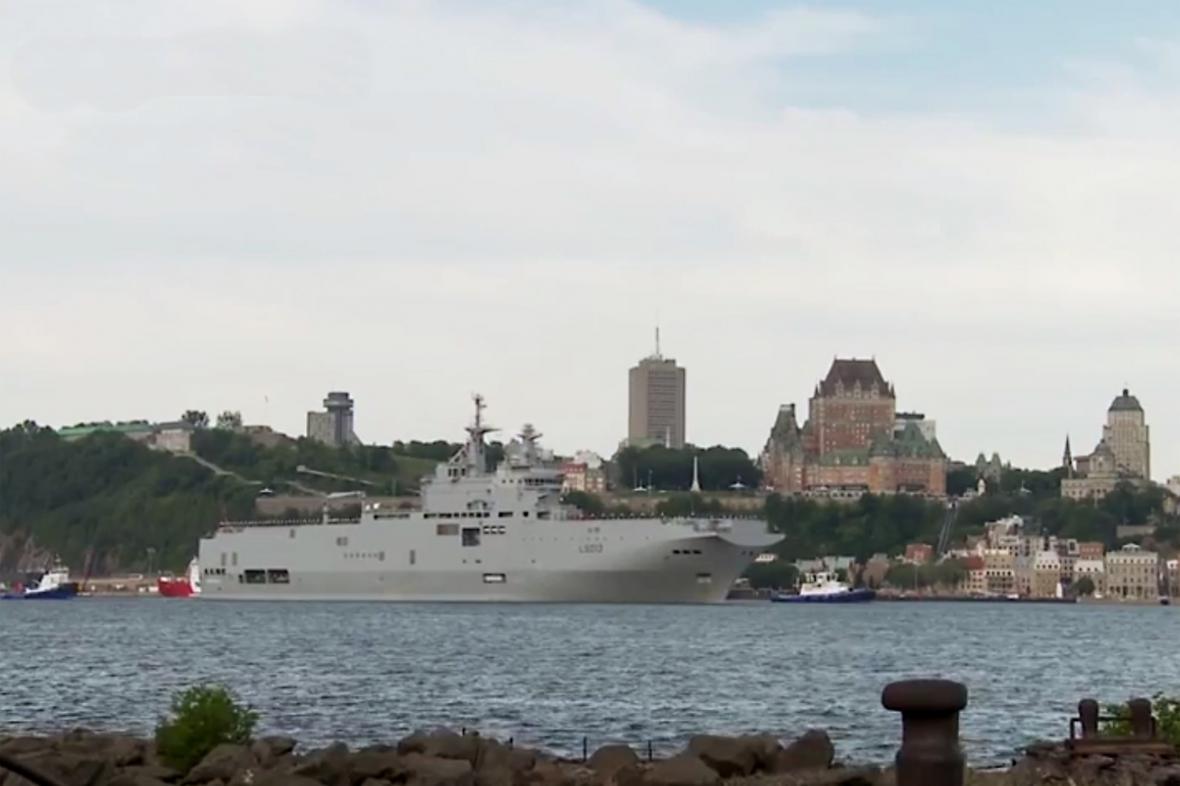 Loď Mistral