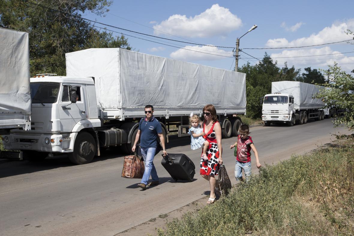 Humanitární ruský konvoj