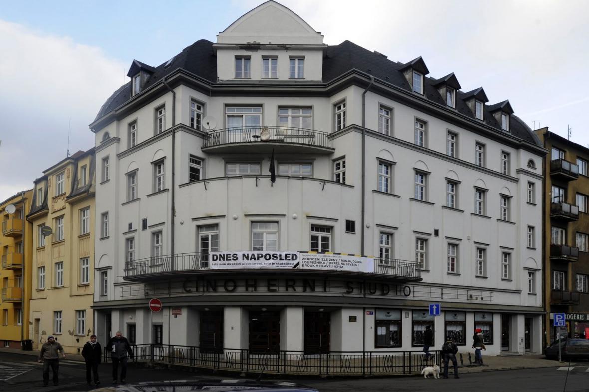 Budova Činoherního studia v Ústí nad Labem