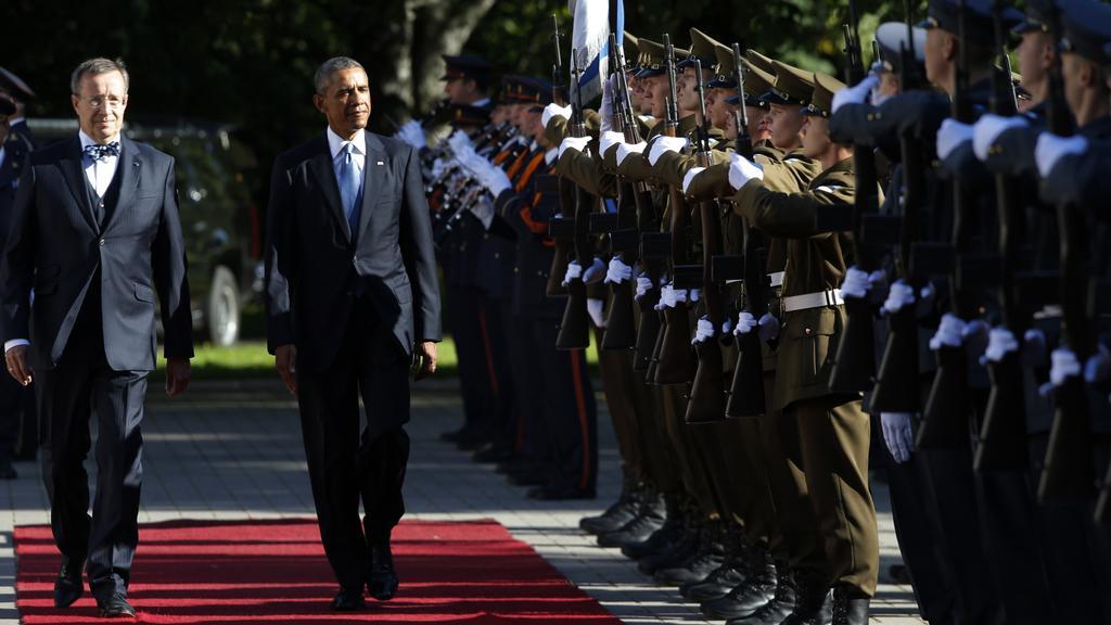 Prezident USA na návštěvě Estonska