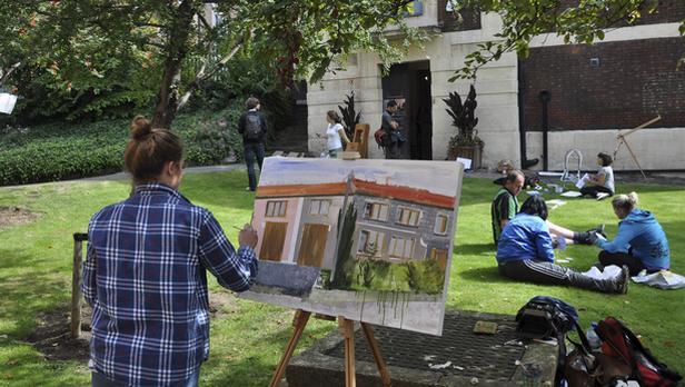 Bedřichovice před Tate Modern