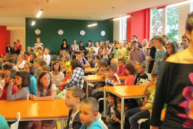 Nová jídelna na základní škole v Kunovicích