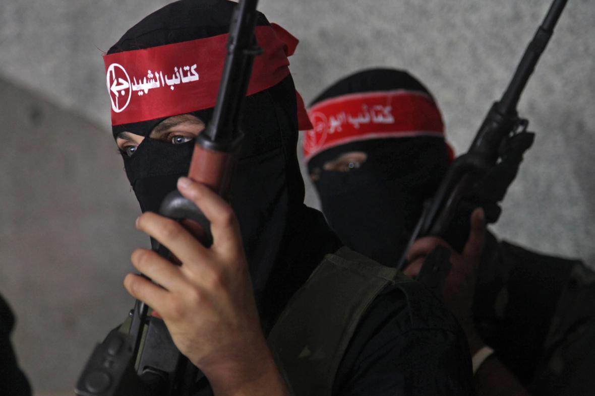 Ozbrojenci z Lidové fronty pro osvobození Palestiny