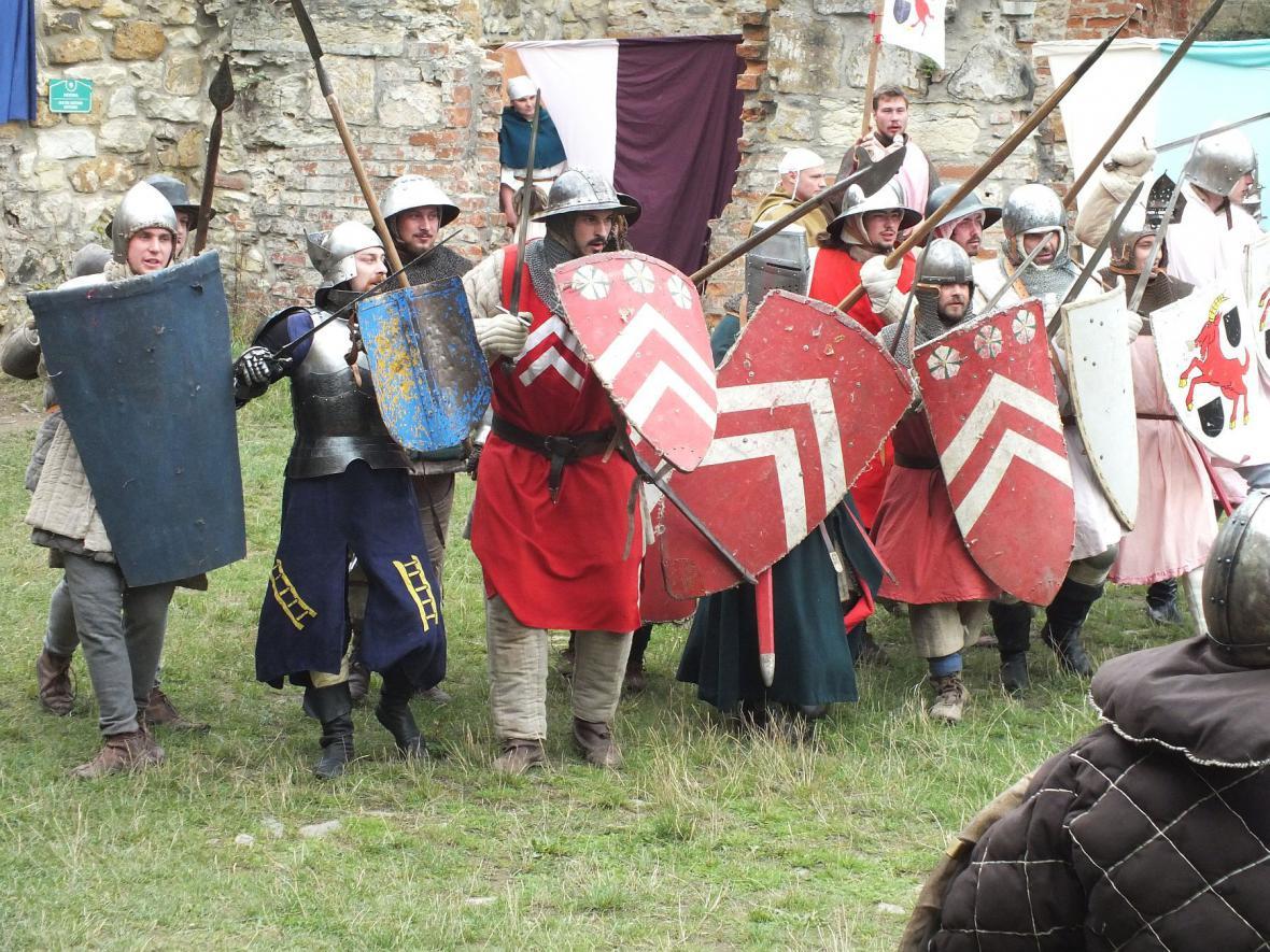 Středověk na boskovickém hradě
