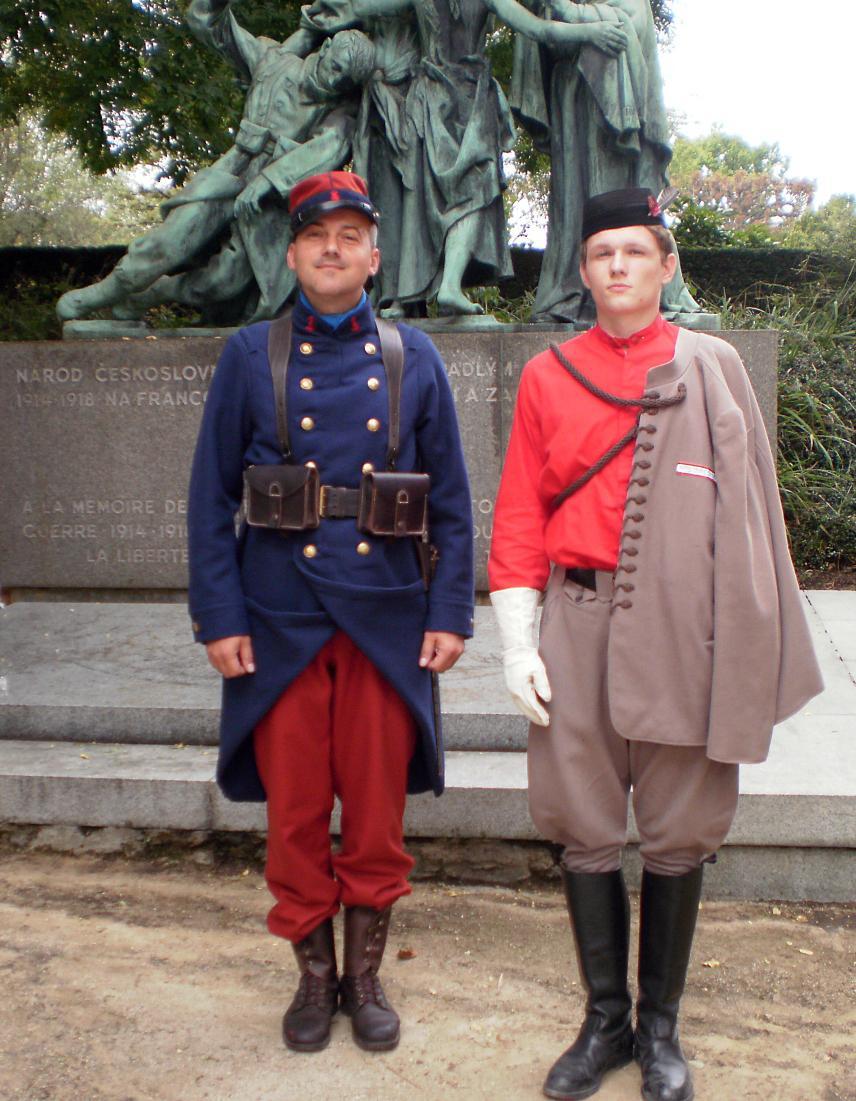 Připomínka 100. výročí založení československých legií v Paříži