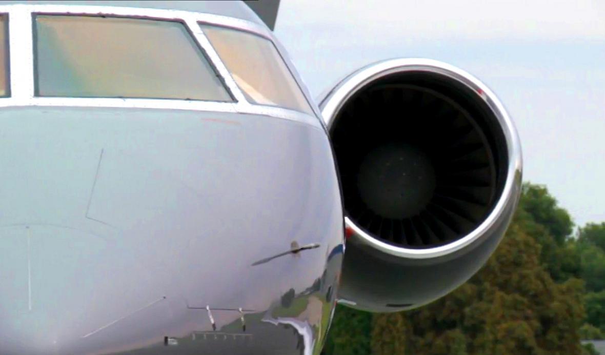 Motor vládního letounu