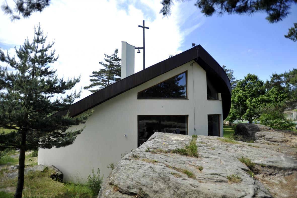 Ekumenický kostelík Boží lásky v Budislavi na Svitavsku
