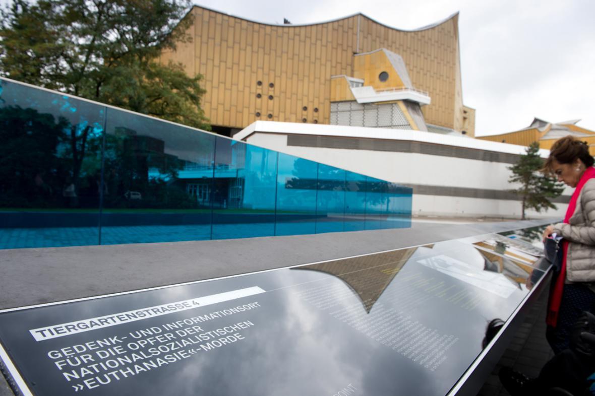 Berlínský památník obětem nacistické