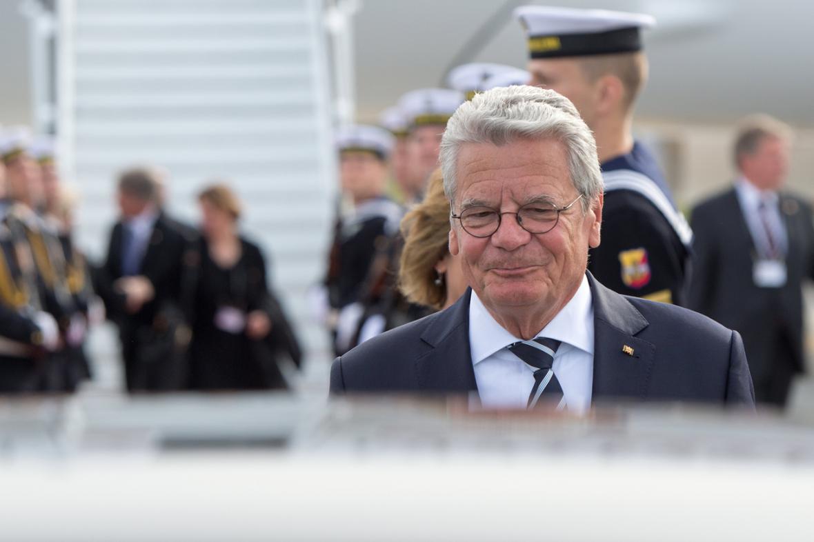 Joachim Gauck na návštěvě Polska