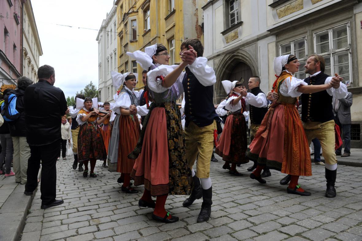 Průvod Vendelín v Plzni