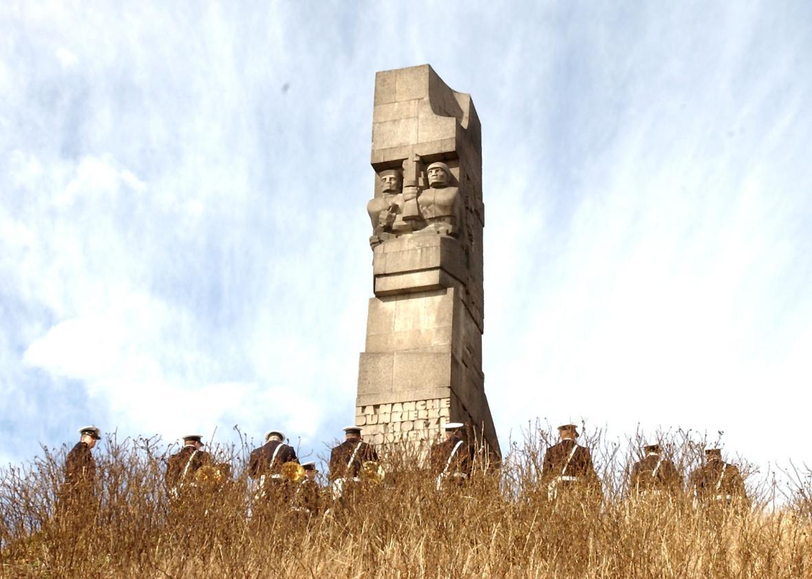 Památník u Westerplatte