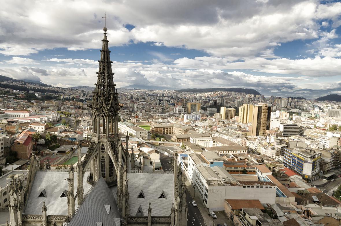 Ekvádorské Quito
