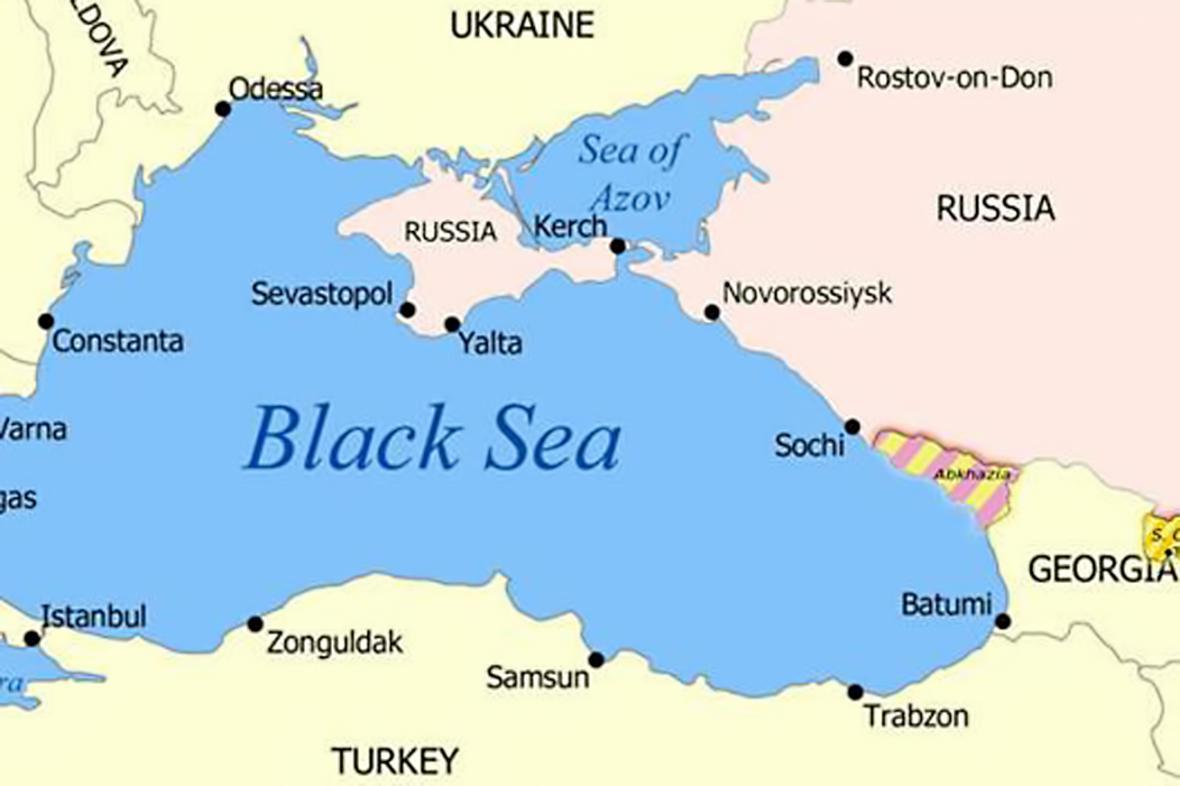 Ruská odpověď na pomocnou mapku kanadské delegace při NATO