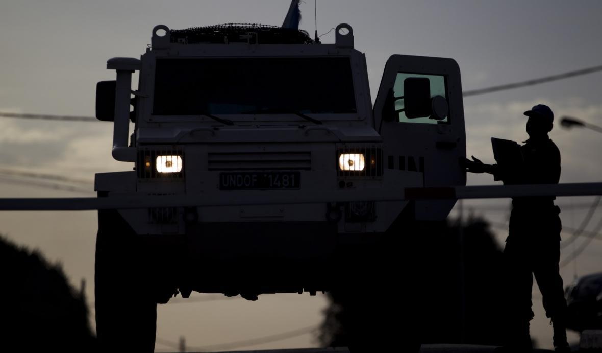 Mise UNDOF na Golanských výšinách