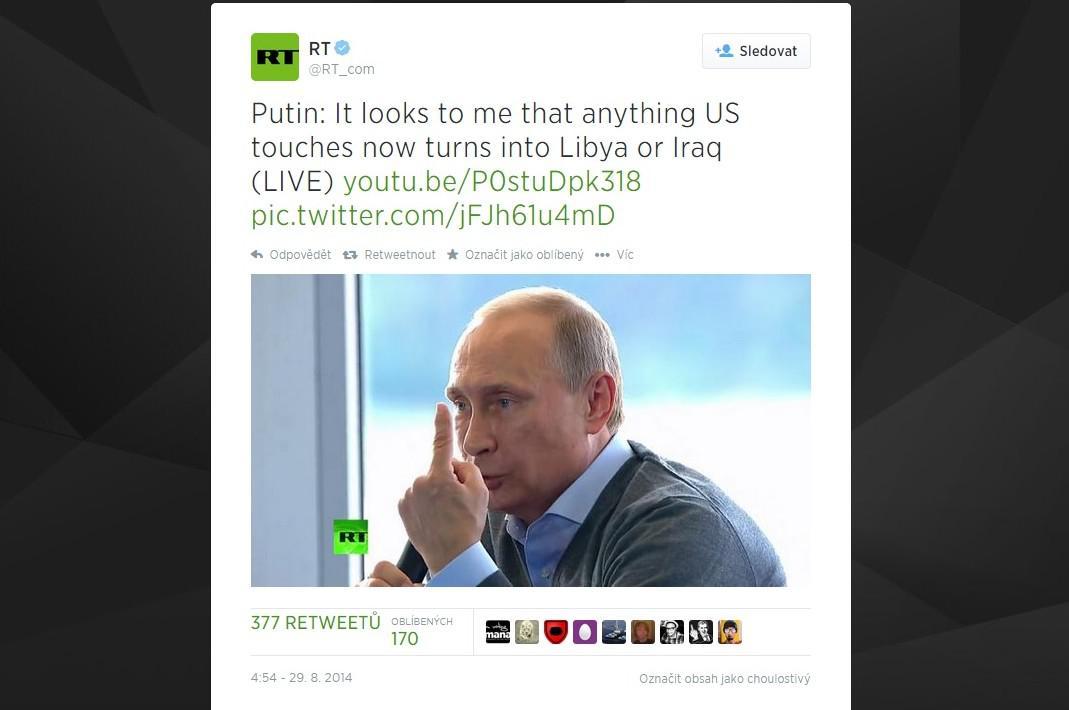 Putinův citát