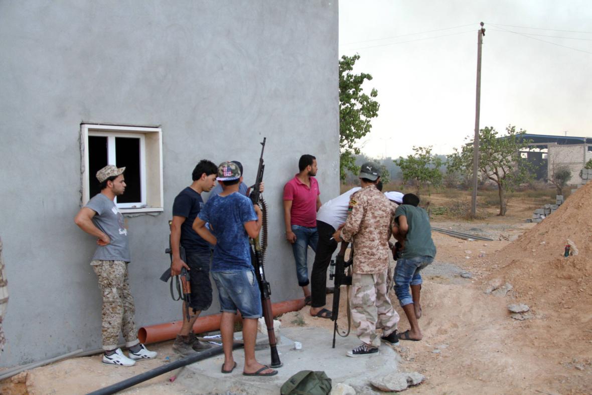 Boje u Tripolisu