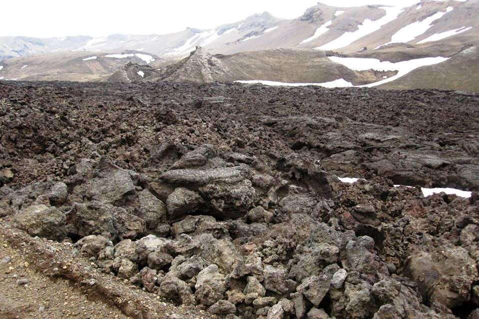 Okolí vulkánu Askja