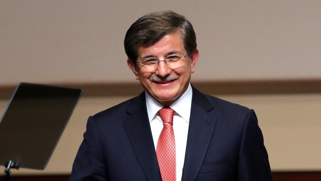 Nastupující premiér Turecka Ahmet Davutoglu