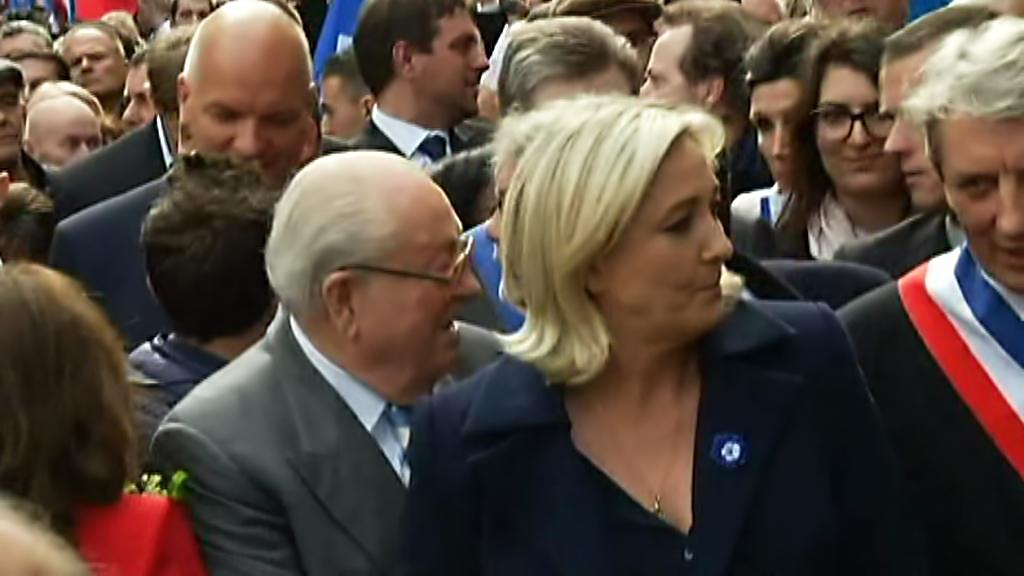Jean-Marie a Marine Le Penovi