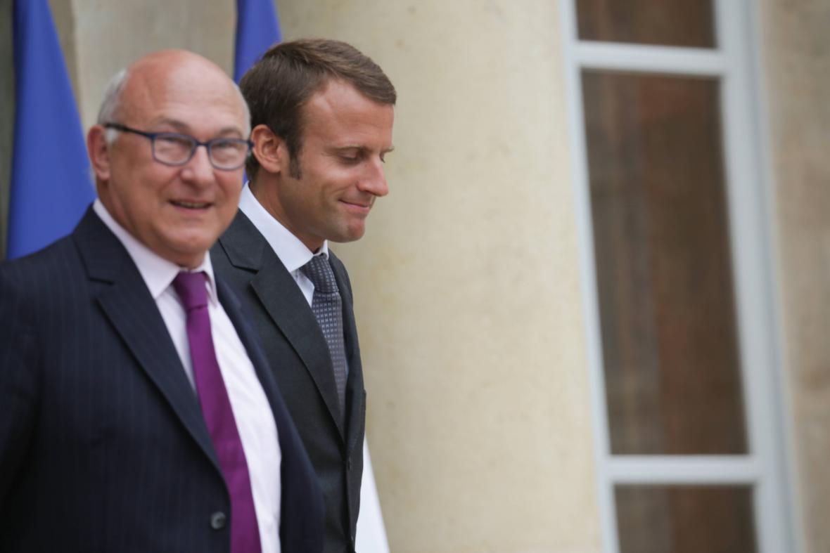 Michel Sapin a Emmanuel Macron
