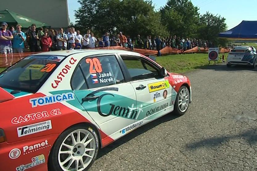 Barum Czech Rally Zlín každoročně přiláká 250 tisíc lidí