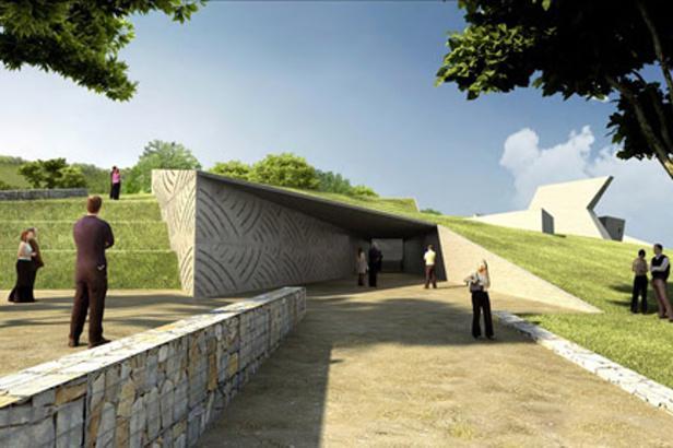 Návrh podoby archeoparku v Pavlově vytvořil architekt Radko Květ