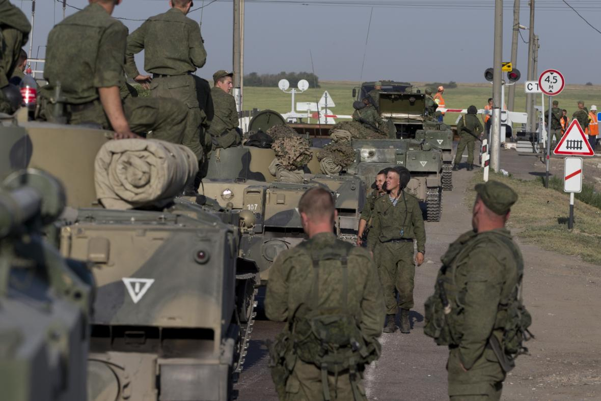 Ruští vojáci 30 kilometrů od hranic s Ukrajinou