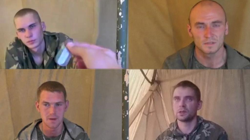 Ruští výsadkáři na Ukrajině