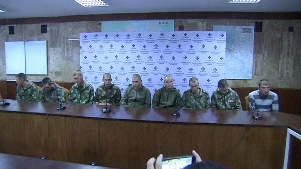 Zadržení vojáci původem z Ruska