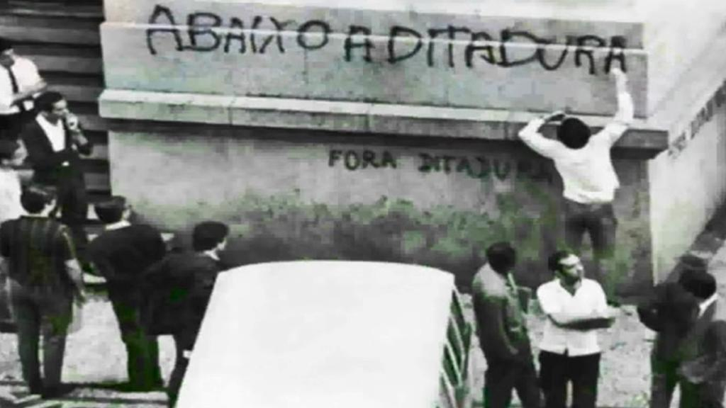 Brazilský disent z dob vojenské junty
