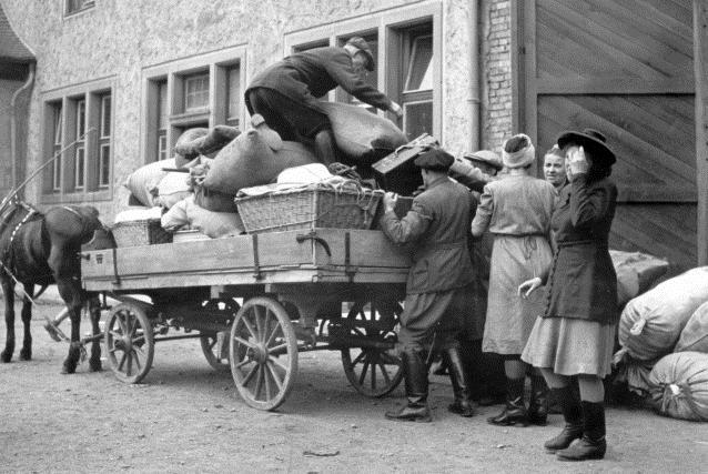 Poválečný odsun Němců