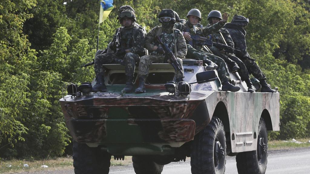 Vůz ukrajinské armády