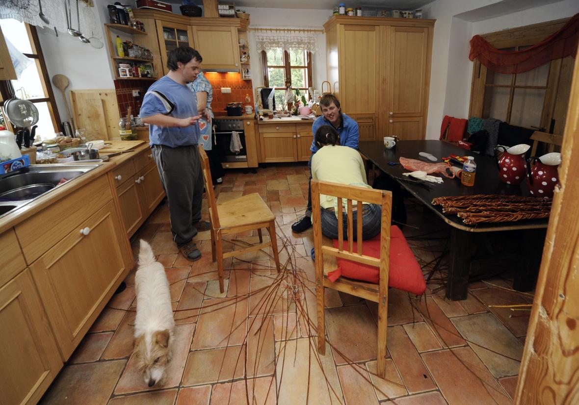 Samostatné bydlení mentálně postižených osob