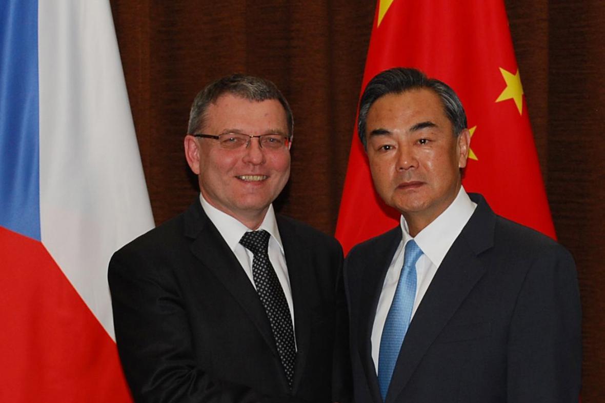 Lubomír Zaorálek a Wang I