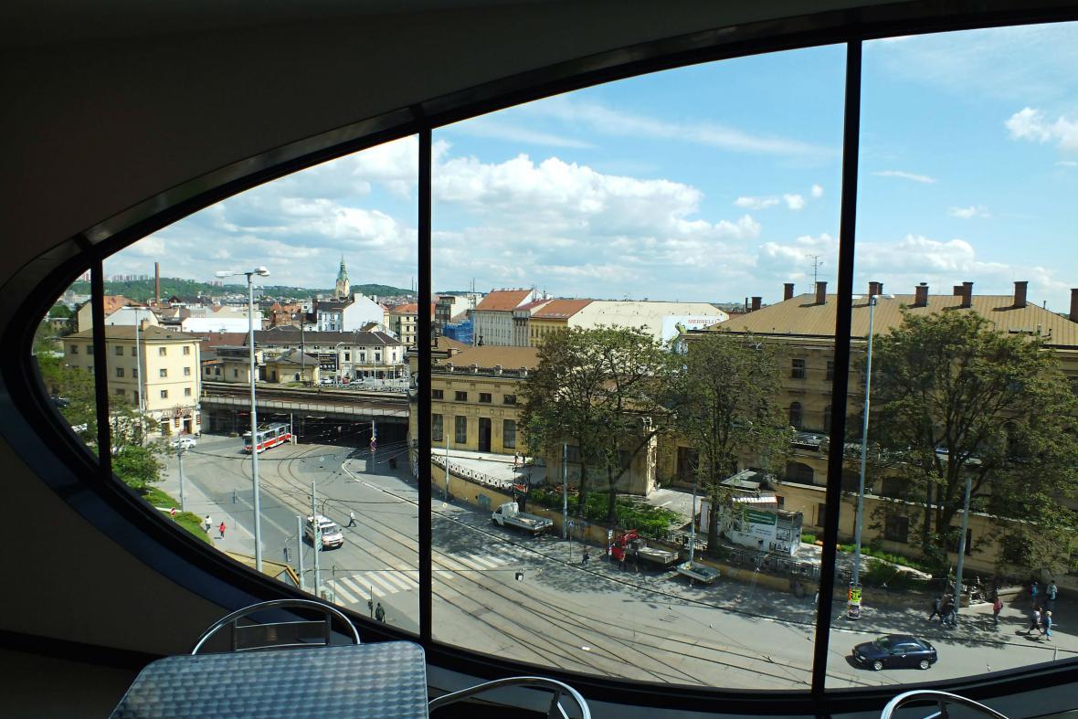 Viadukt Křenová a prostor před brněnským hlavním nádražím