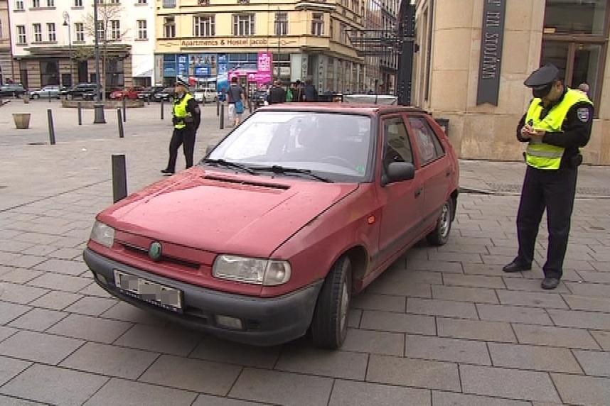 Špatné parkování